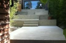 Beautifiul cast concrete terraces 2