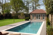 Bespoke poolhouse