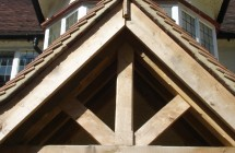 Green oak Joinery and Roof Constuction